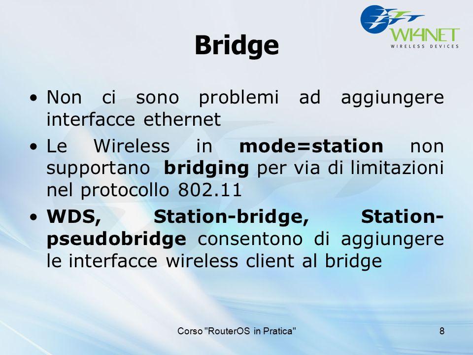 Routing Corso Wireless in Pratica 19