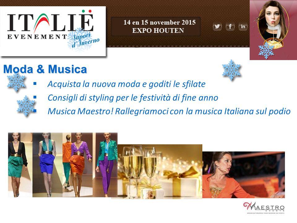 Moda & Musica  Acquista la nuova moda e goditi le sfilate  Consigli di styling per le festività di fine anno  Musica Maestro.