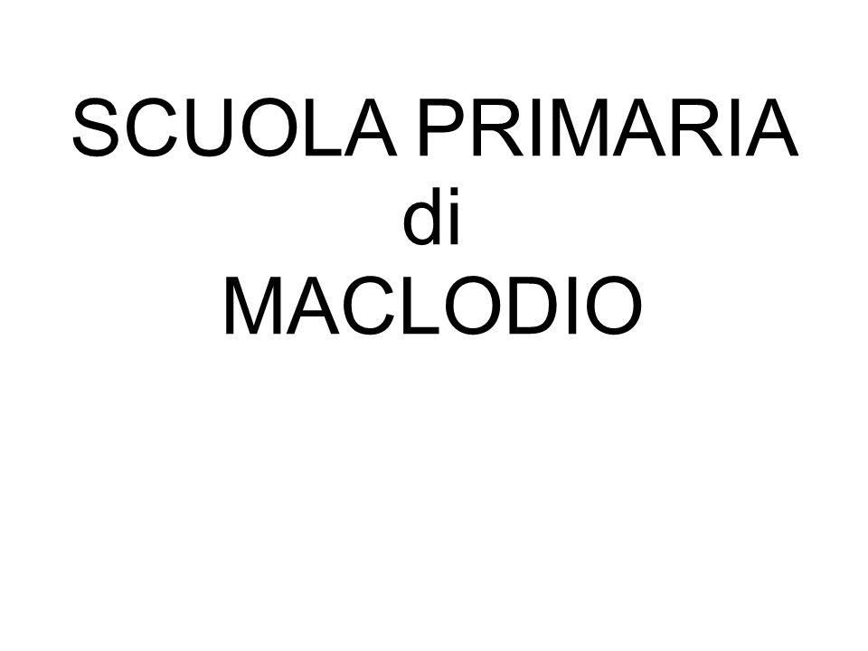SCUOLA PRIMARIA di MACLODIO