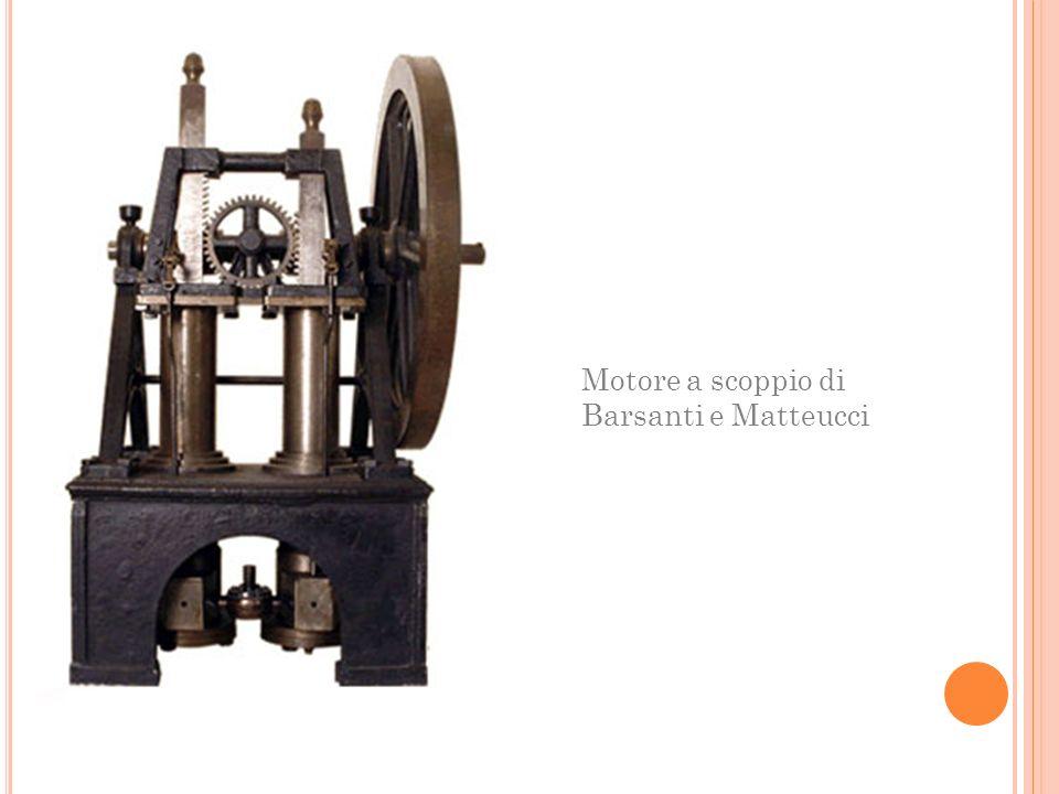 Motore a scoppio di Barsanti e Matteucci