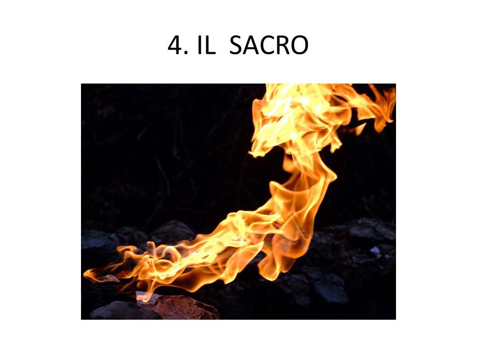 4. IL SACRO