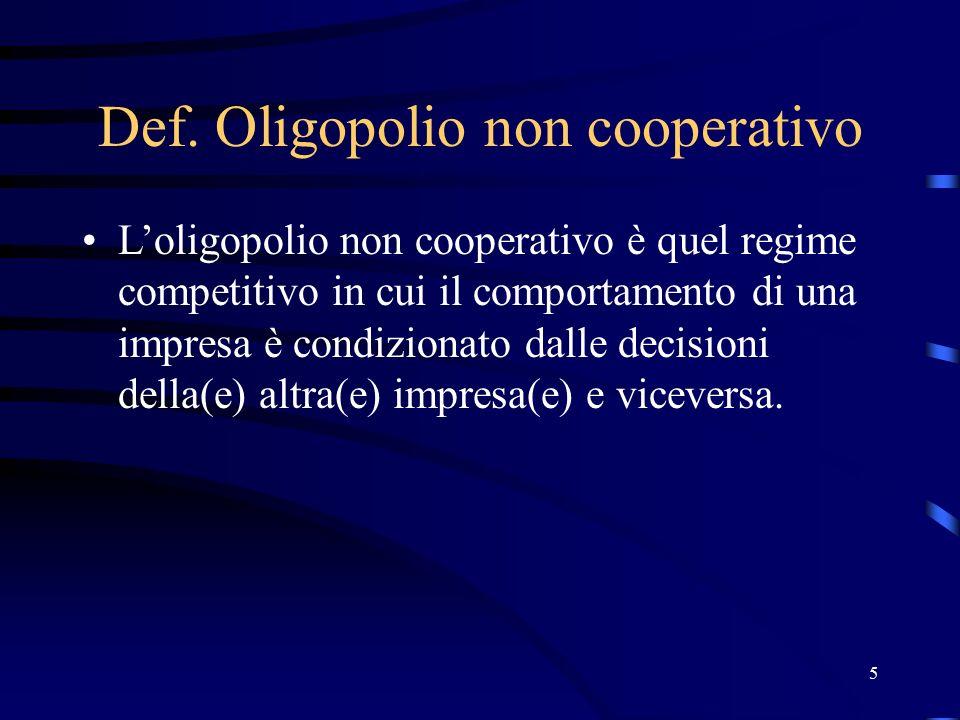 16 Duopolio di Cournot: L'impresa 2 produce q2=q# D P Q MC Q# D1=D-Q#