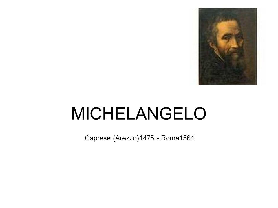 Riteneva che ogni artefice concepisce nella propria mente un modello di bellezza, cioè un modello ideale al quale conformare ogni propria creazione Il perfetto corpo umano, in quanto specchio della bellezza divina, è per il primo Michelangelo la cosa più bella del creato.