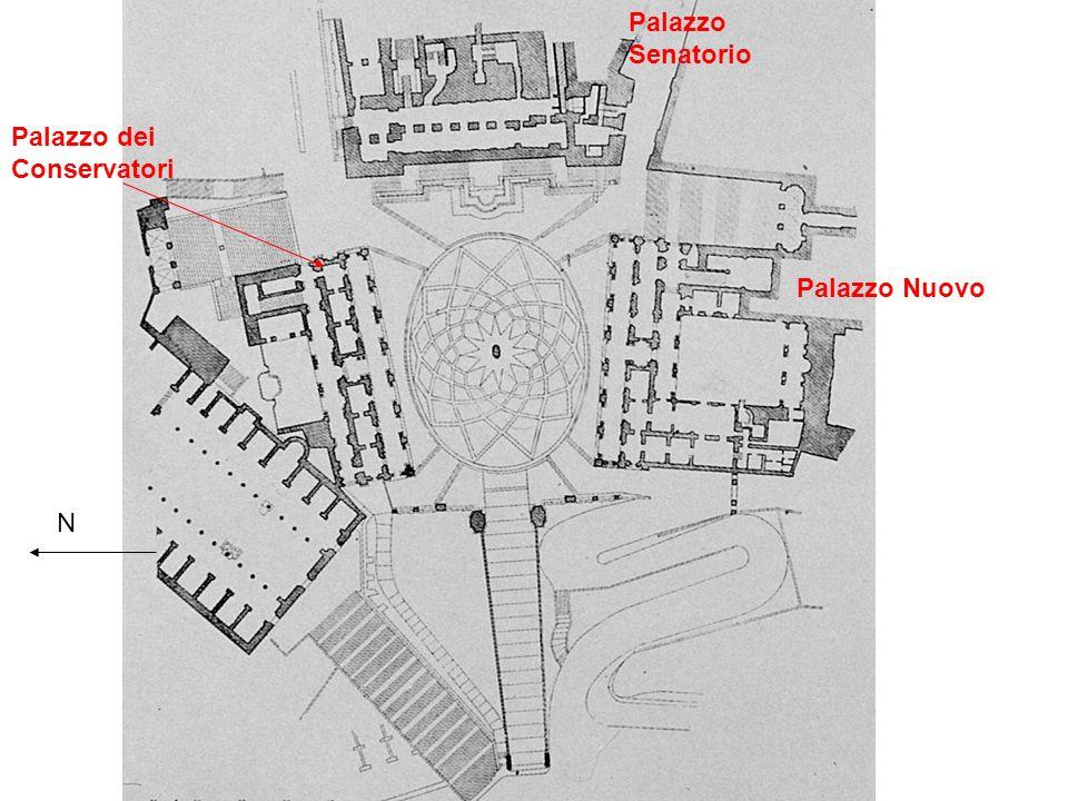 N Palazzo Senatorio Palazzo Nuovo Palazzo dei Conservatori