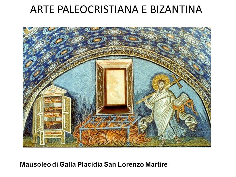 ARTE PALEOCRISTIANA E BIZANTINA MAUSOLEO DI GALLA PLACIDIA- (V SEC.) - INTERNO