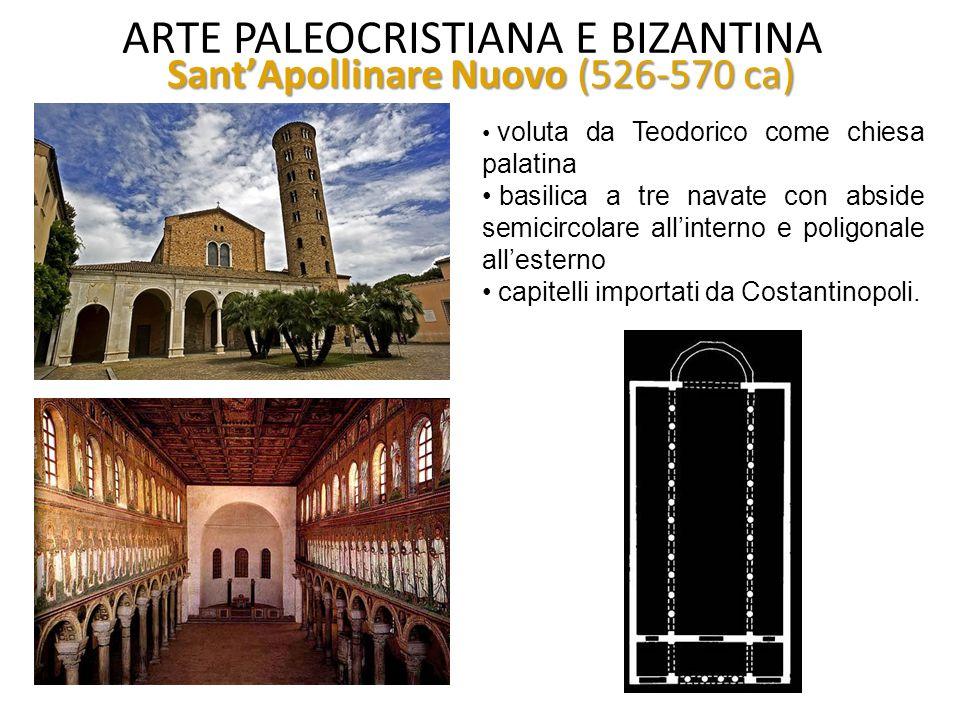 ARTE PALEOCRISTIANA E BIZANTINA Mausoleo di Galla Placidia San Lorenzo Martire