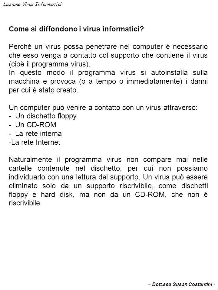 Come ci si può difendere dai virus informatici.