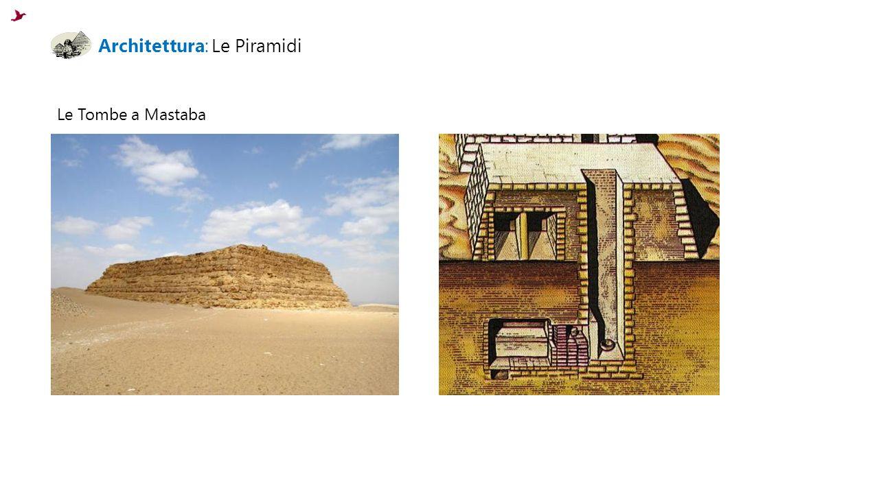 Architettura: Le Piramidi Le Tombe a Mastaba