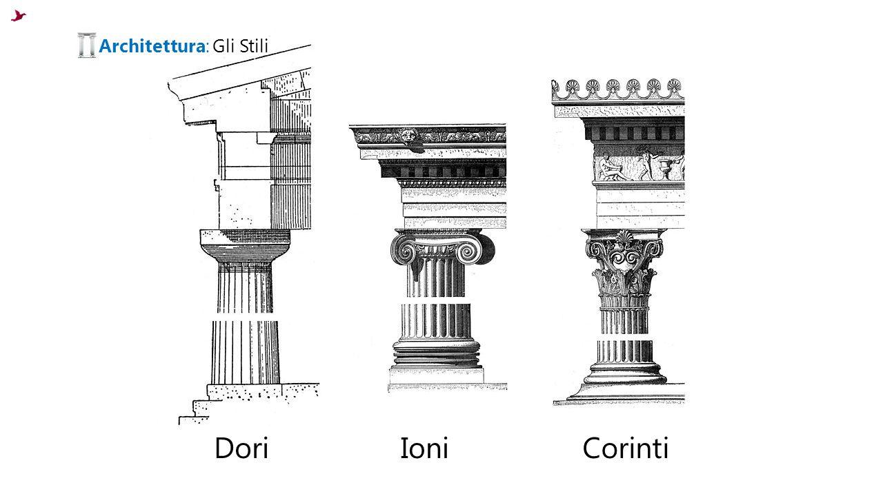 Dori IoniCorinti Architettura: Gli Stili