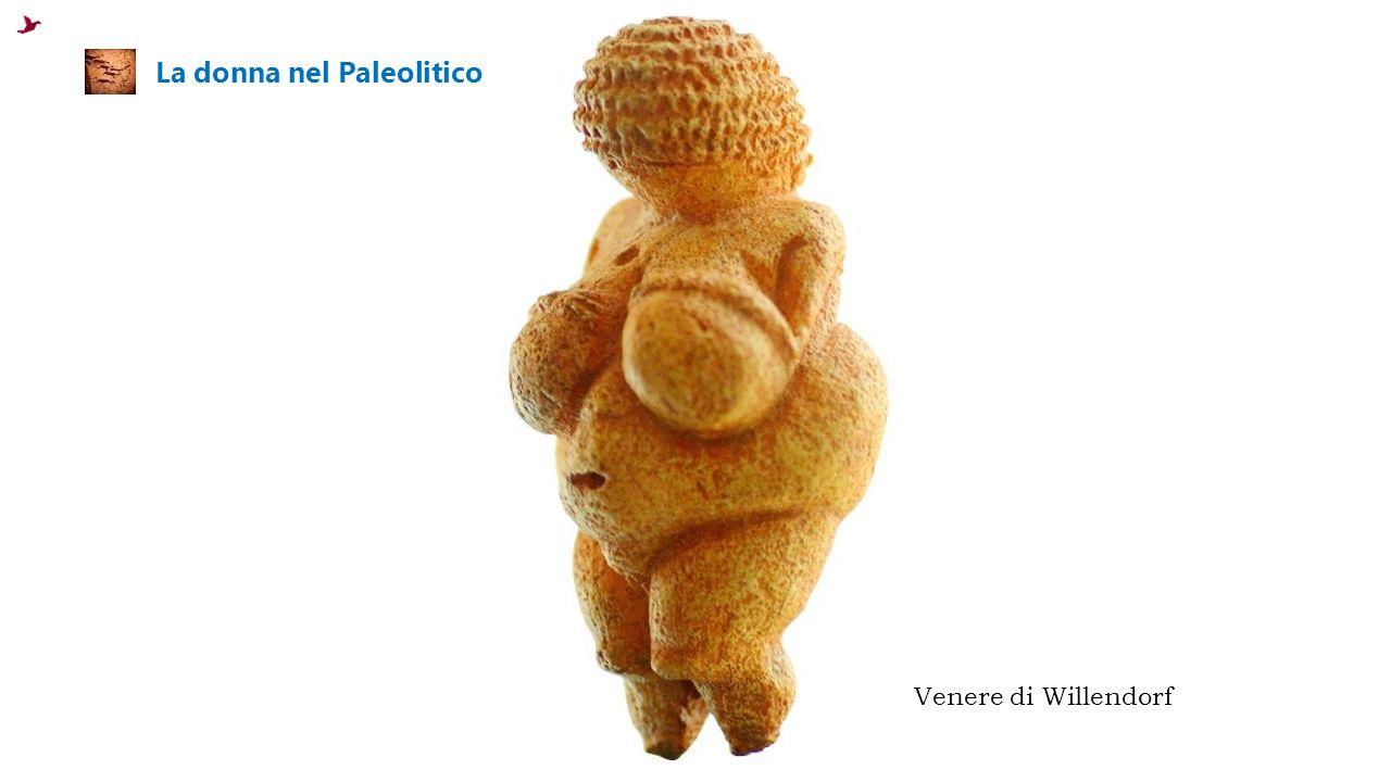 La donna nel Paleolitico Venere di Willendorf