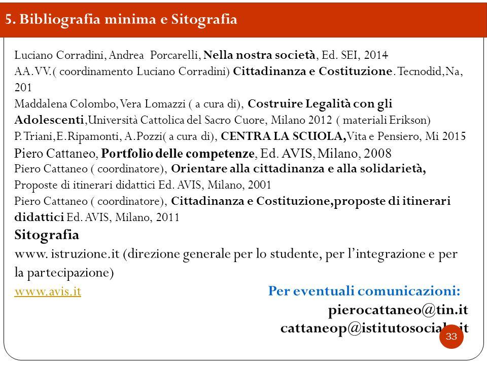 Luciano Corradini, Andrea Porcarelli, Nella nostra società, Ed. SEI, 2014 AA.VV.( coordinamento Luciano Corradini) Cittadinanza e Costituzione. Tecnod