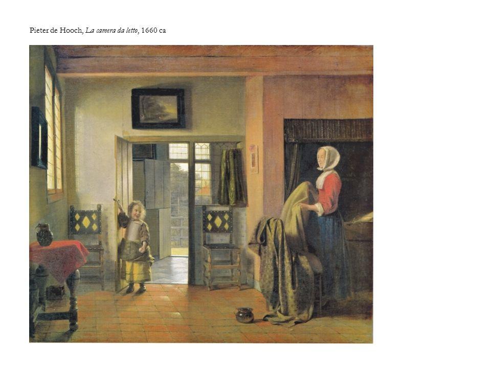 Pieter de Hooch, La camera da letto, 1660 ca