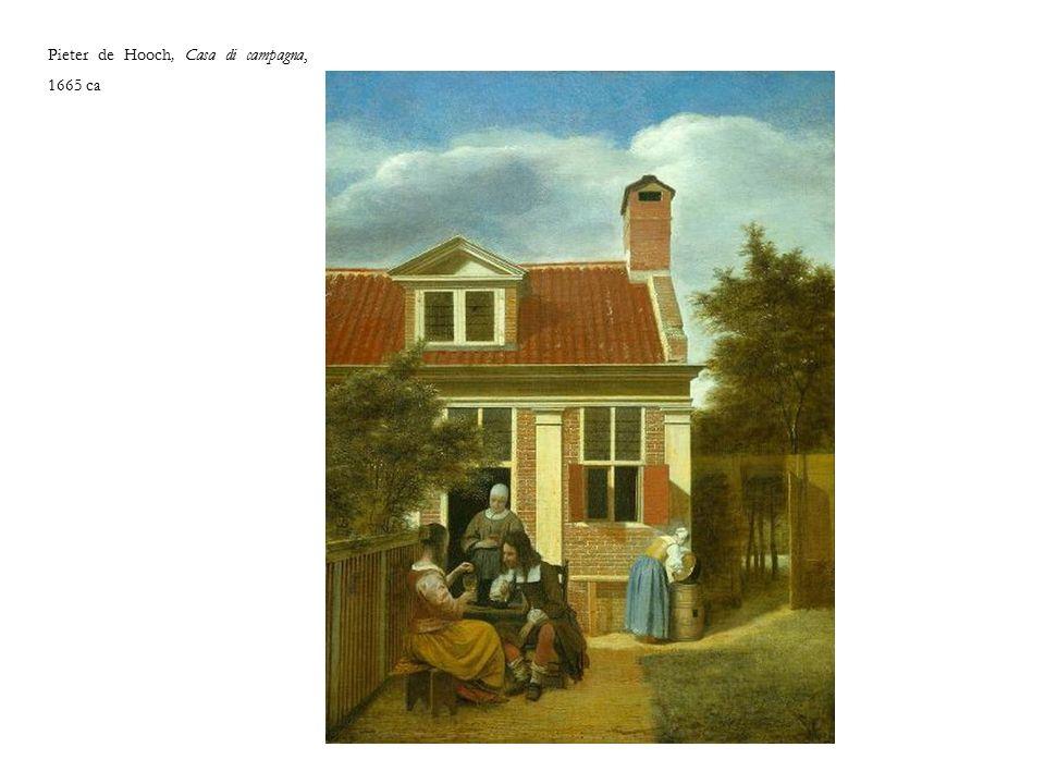 Pieter de Hooch, Casa di campagna, 1665 ca