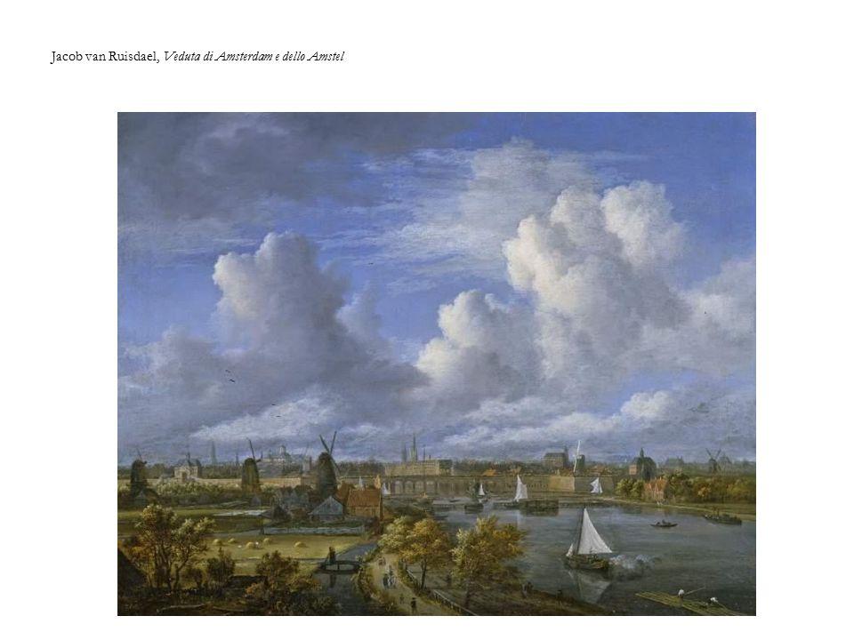 Jacob van Ruisdael, Veduta di Amsterdam e dello Amstel