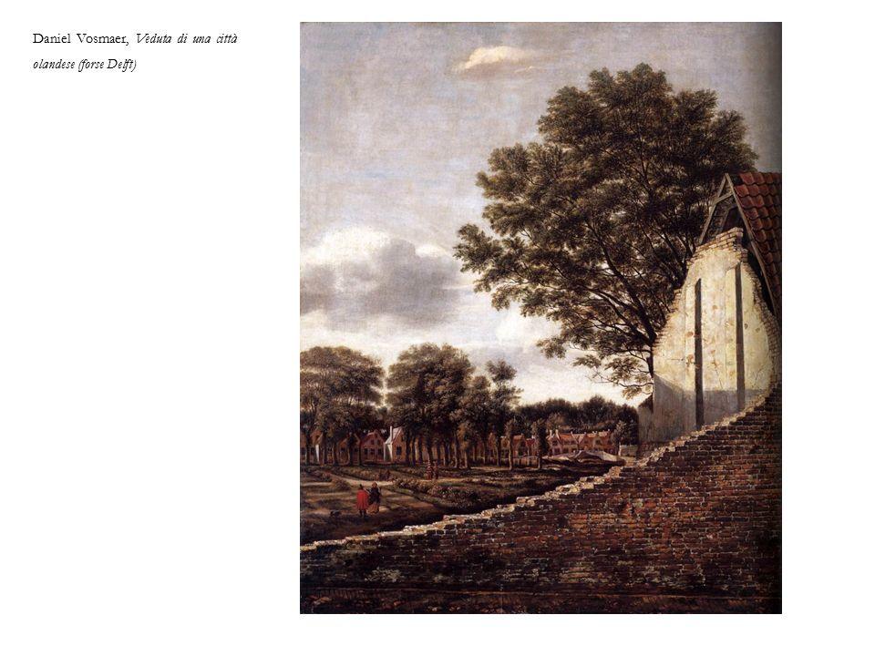 Daniel Vosmaer, Veduta di una città olandese (forse Delft)