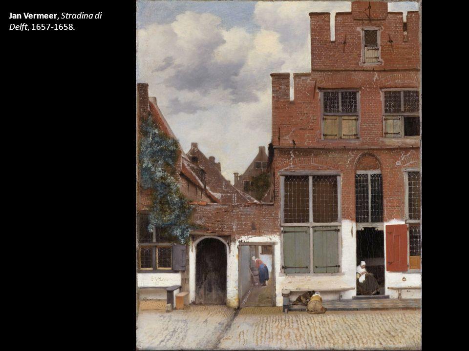 Jan Vermeer, Stradina di Delft, 1657-1658.