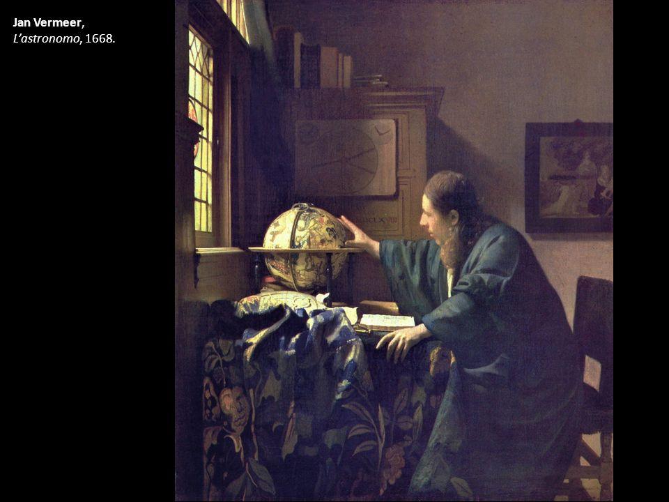 Jan Vermeer, L'astronomo, 1668.