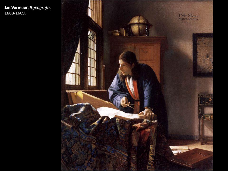 Jan Vermeer, Il geografo, 1668-1669.