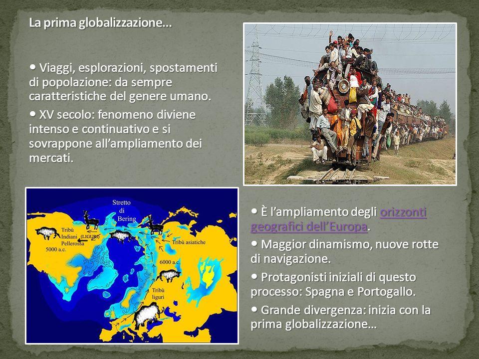 Viaggi, esplorazioni, spostamenti di popolazione: da sempre caratteristiche del genere umano. Viaggi, esplorazioni, spostamenti di popolazione: da sem