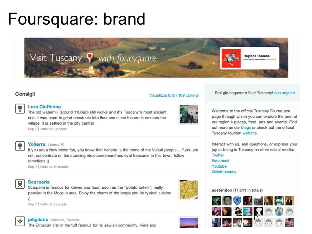 18 Foursquare: brand