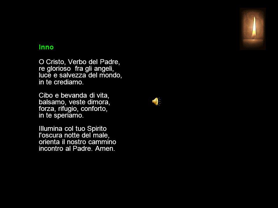 30 LUGLIO 2015 GIOVEDÌ - XVII SETTIMANA DEL TEMPO ORDINARIO UFFICIO DELLE LETTURE INVITATORIO V. Signore, apri le mie labbra R. e la mia bocca proclam