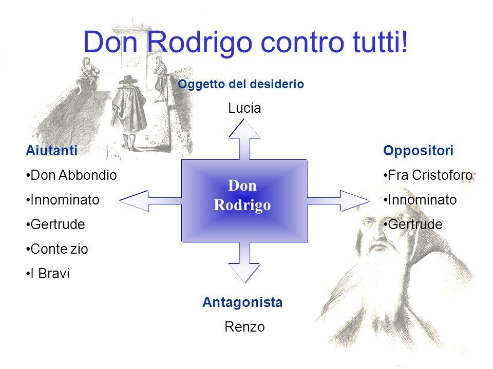 Don Rodrigo contro tutti.