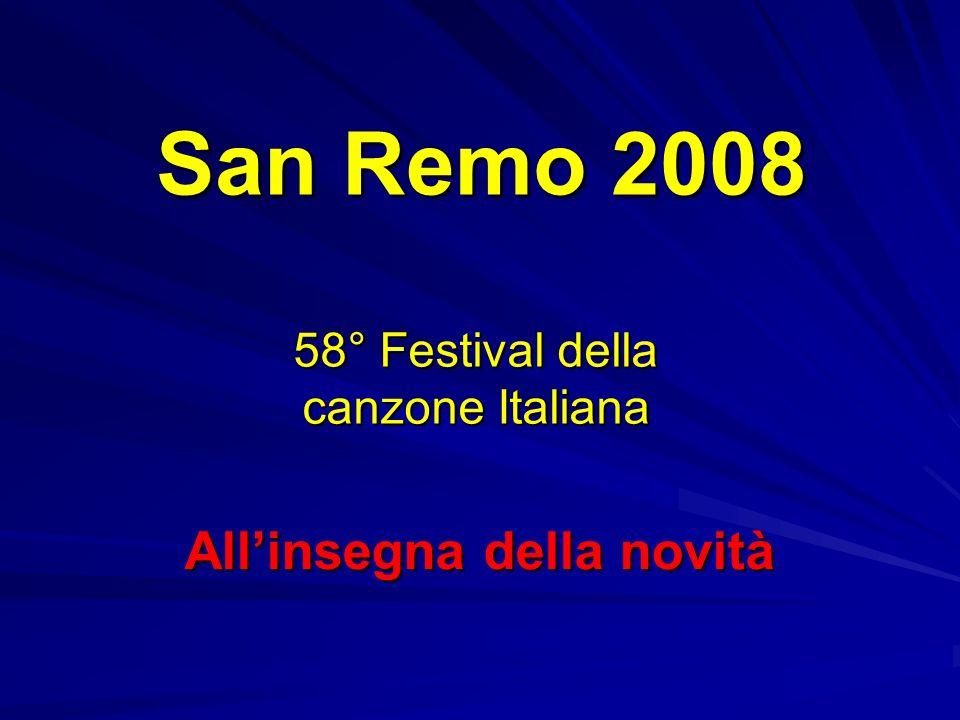 San Remo 2008 IL CAST
