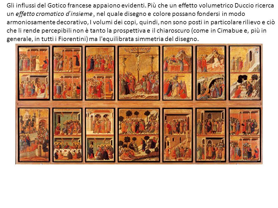 Gli influssi del Gotico francese appaiono evidenti.