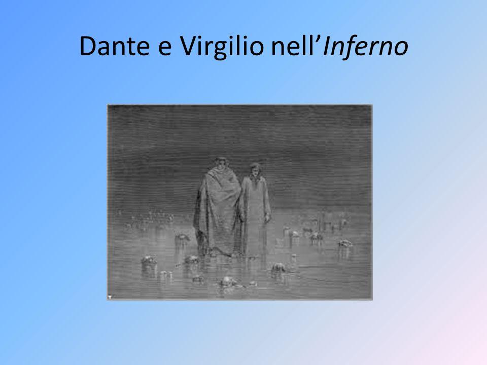 Dante e Virgilio nell'Inferno