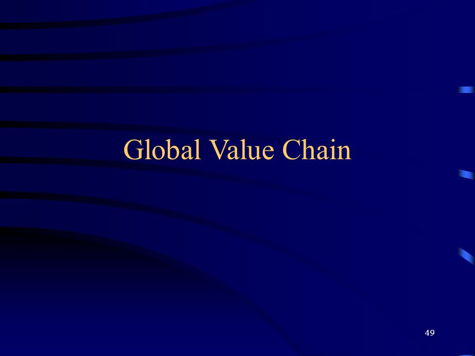 Global Value Chain 49