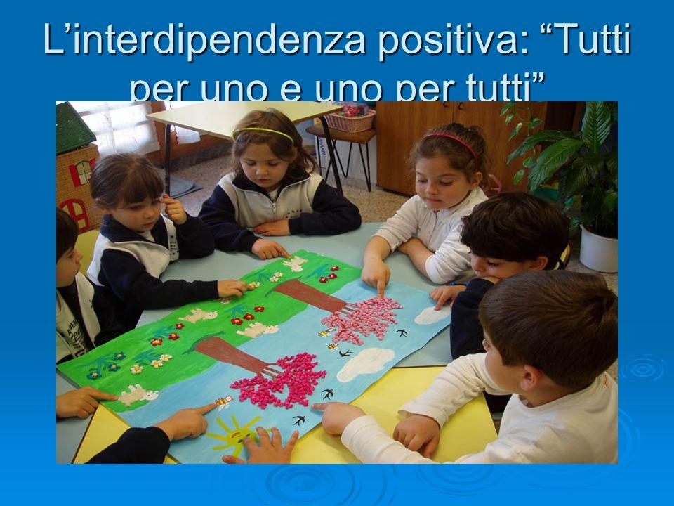 """L'interdipendenza positiva: """"Tutti per uno e uno per tutti"""""""