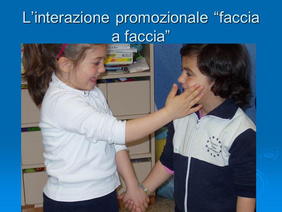 """L'interazione promozionale """"faccia a faccia"""""""