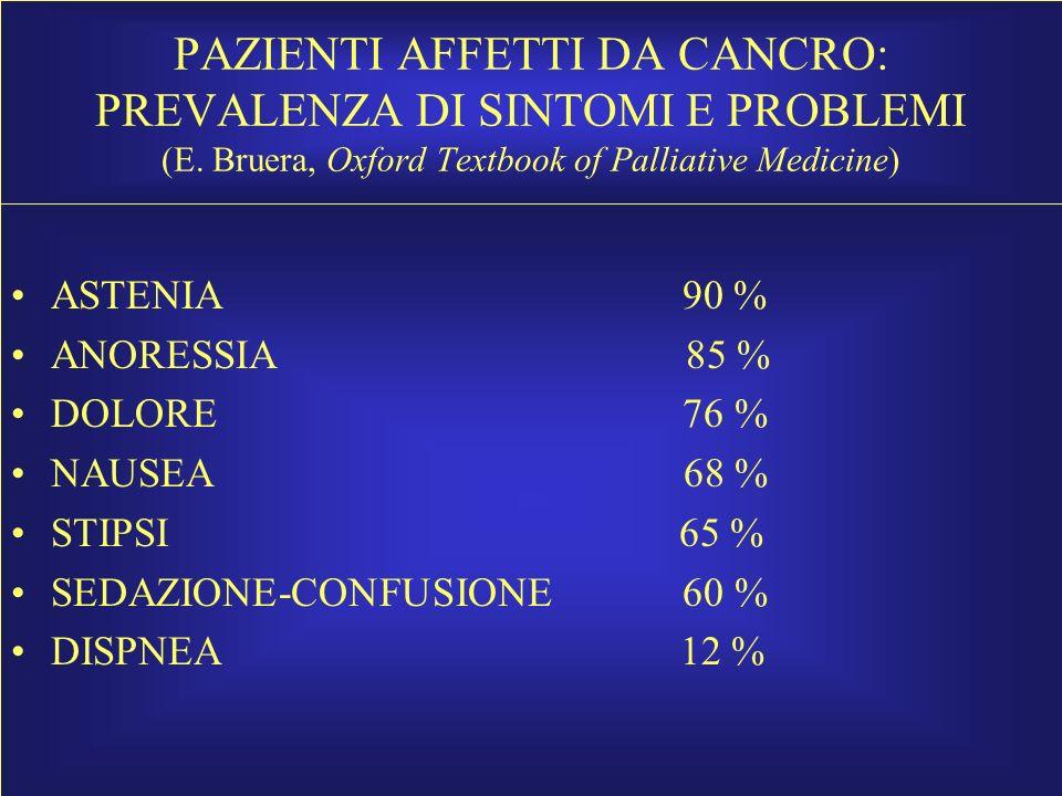 Cachessia-Anoressia assistenza infermieristica Paziente in NTP: Mettere in risalto l'aspetto positivo del potersi alimentare.