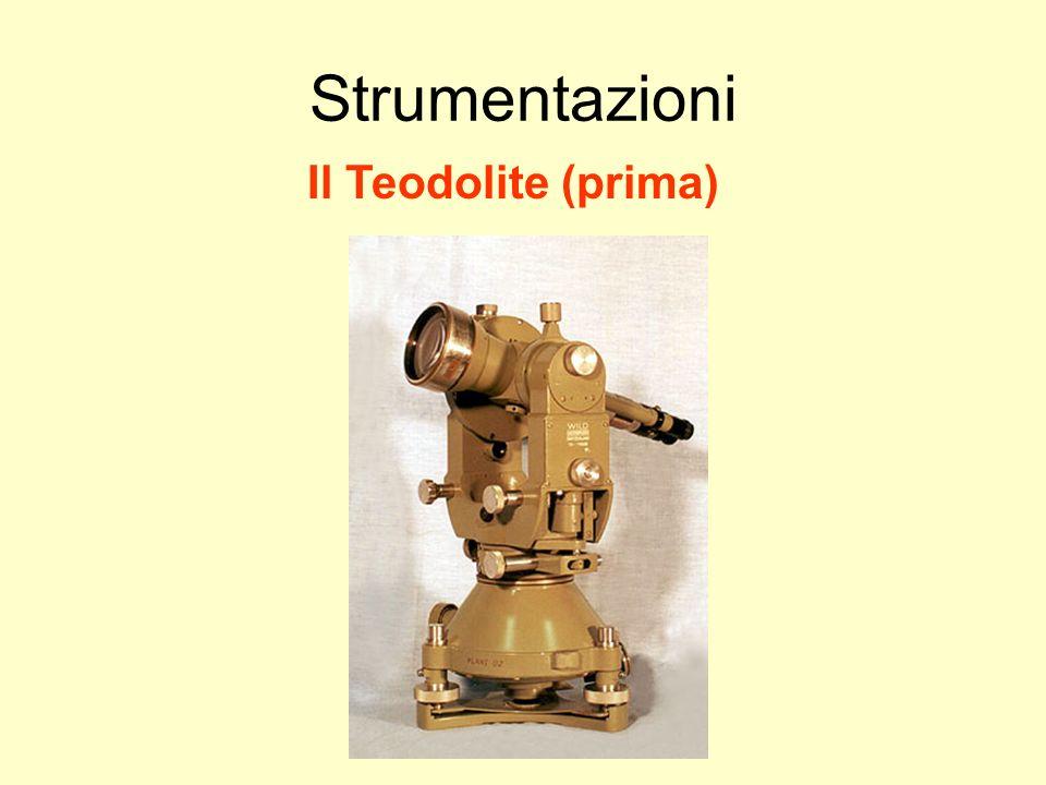 Udino Ranzato uranzato@libero.it Strumentazioni Il Teodolite (prima)