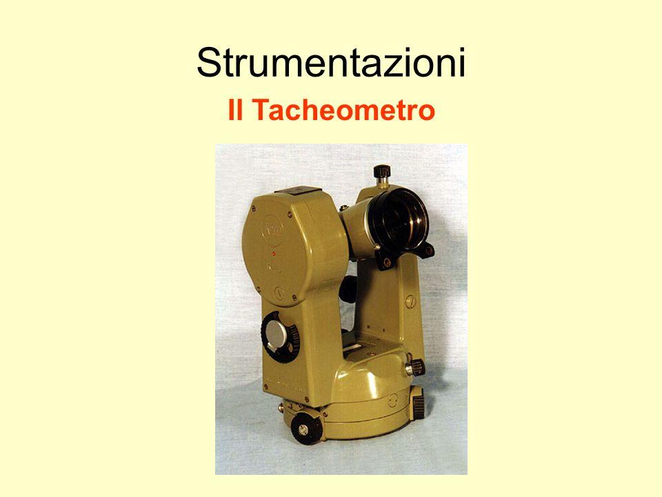 Udino Ranzato uranzato@libero.it Strumentazioni Il Tacheometro