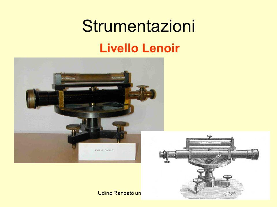 Udino Ranzato uranzato@libero.it Strumentazioni Livello Lenoir