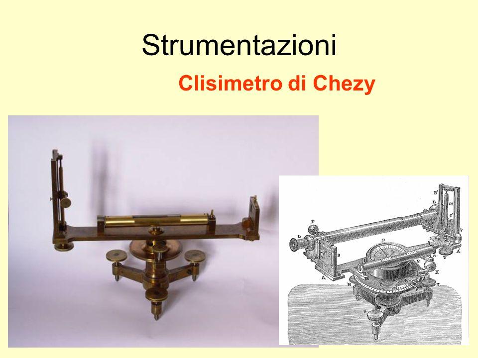Udino Ranzato uranzato@libero.it Strumentazioni Clisimetro di Chezy