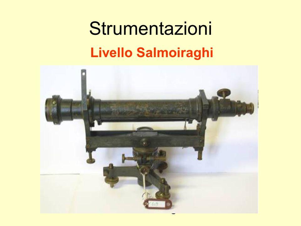 Udino Ranzato uranzato@libero.it Strumentazioni Livello Salmoiraghi