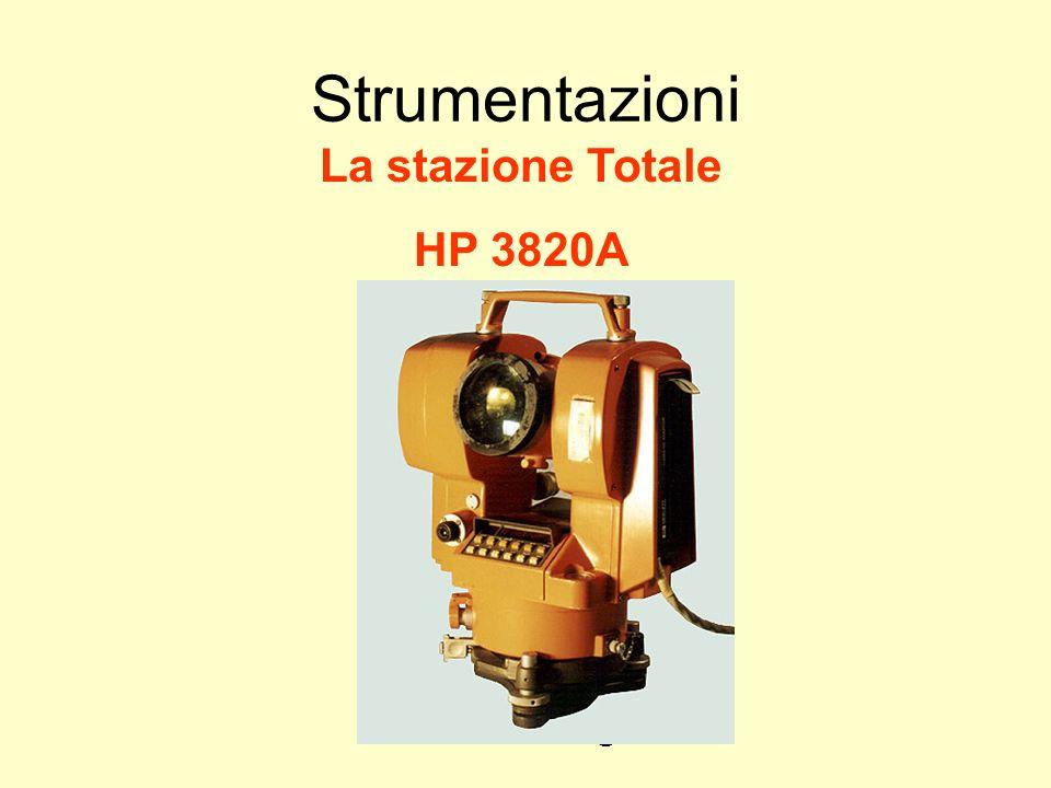 Udino Ranzato uranzato@libero.it Strumentazioni La stazione Totale HP 3820A
