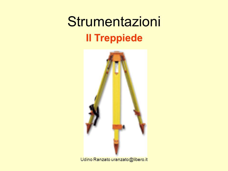 Udino Ranzato uranzato@libero.it Strumentazioni Il Treppiede