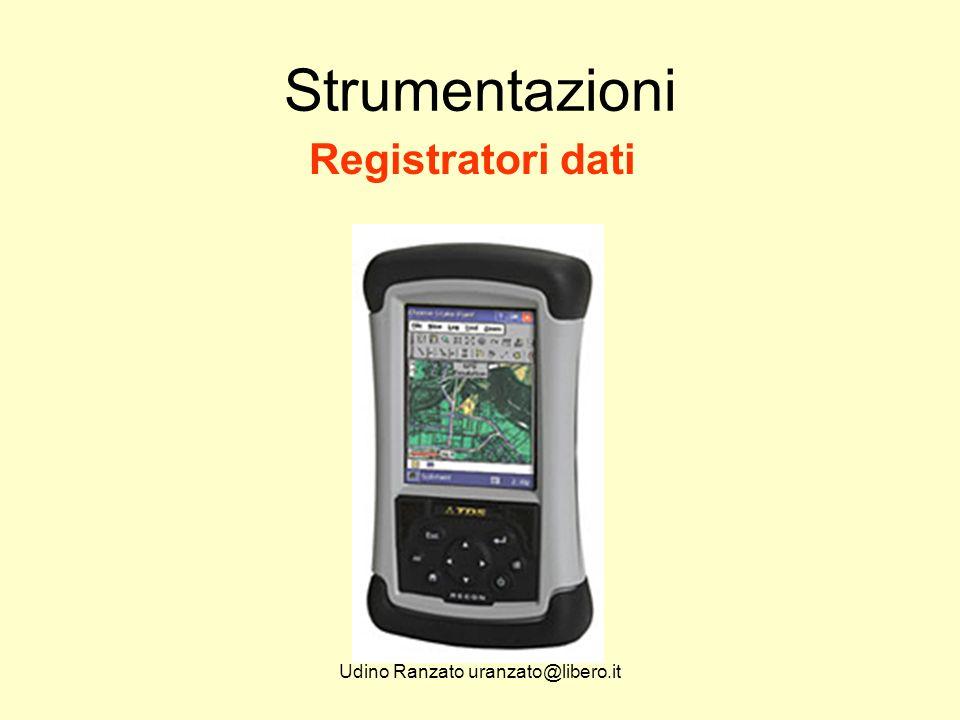 Udino Ranzato uranzato@libero.it Strumentazioni Registratori dati