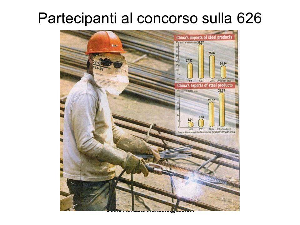 Udino Ranzato uranzato@libero.it I vincitori di questa competizione sono: 626-La sicurezza nel lavoro