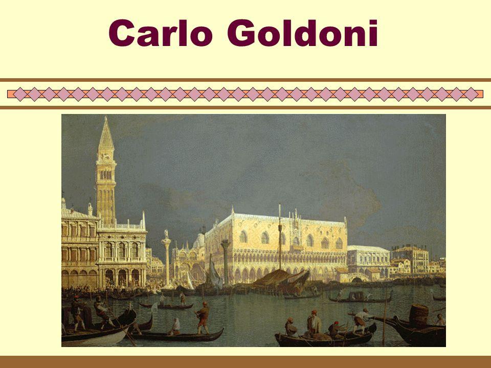 La visione del mondo nella Venezia del '700  A Venezia giunge l'illuminismo più moderno e innovatore grazie ai commerci della città.