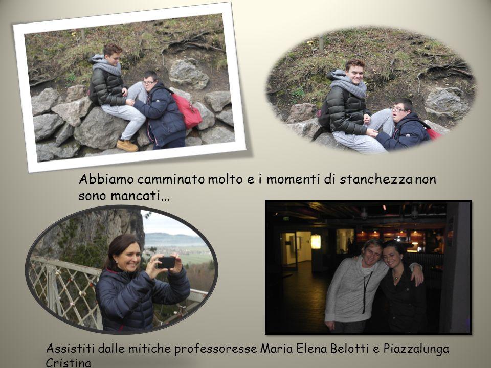 Abbiamo camminato molto e i momenti di stanchezza non sono mancati… Assistiti dalle mitiche professoresse Maria Elena Belotti e Piazzalunga Cristina