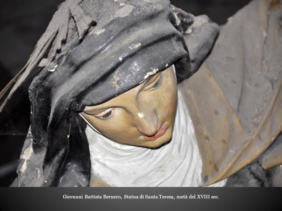 Giovanni Battista Bernero, Statua di Santa Teresa, metà del XVIII sec.