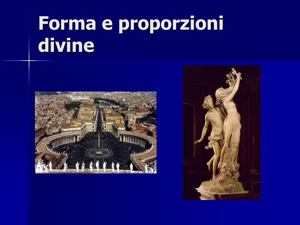 Forma e proporzioni divine
