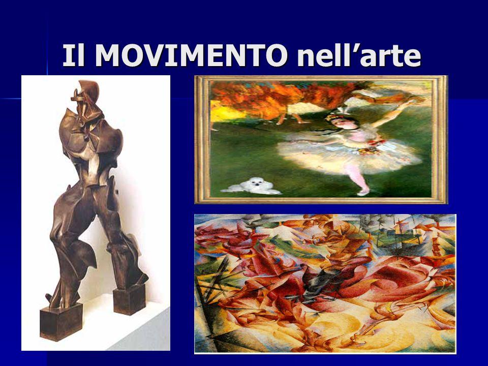Il MOVIMENTO nell'arte