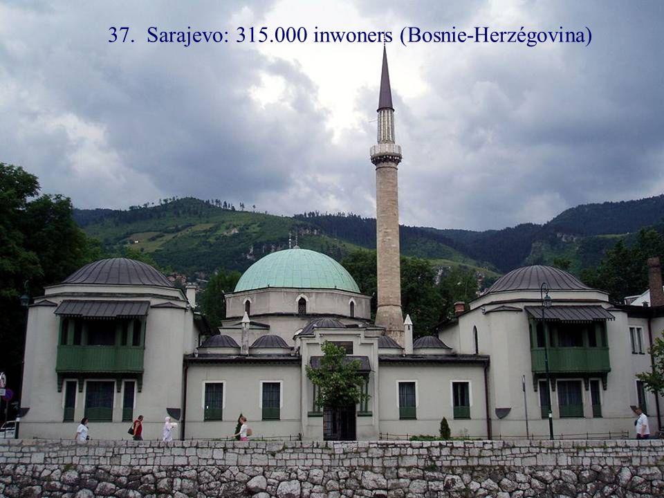 38. Nicosia: 313.000 inwoners (Cyprus)