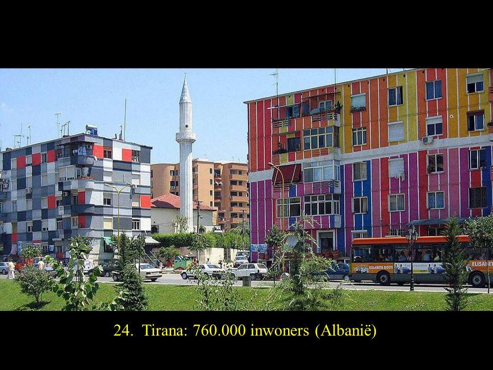 25. Riga: 730.000 inwoners(Litouwen)