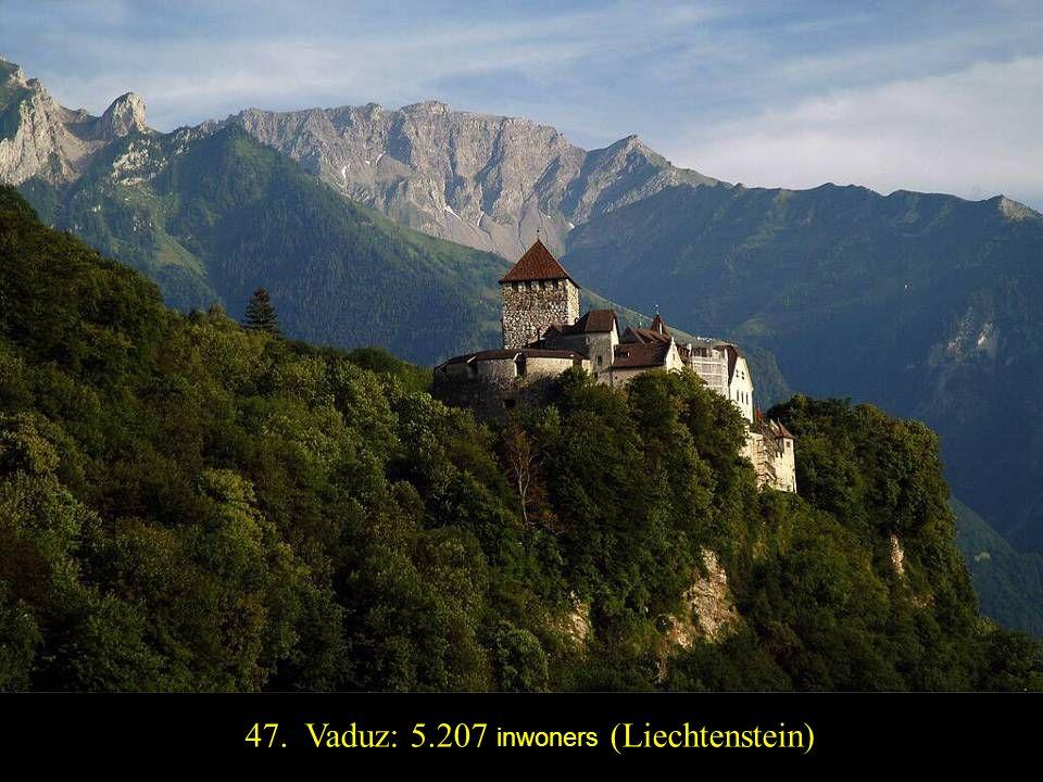 48. San Marino: 4.361 inwoners(San Marino)